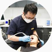 すみれ歯科 スタッフ 呼吸・嚥下・舌の動き・口唇の閉鎖状態の確認