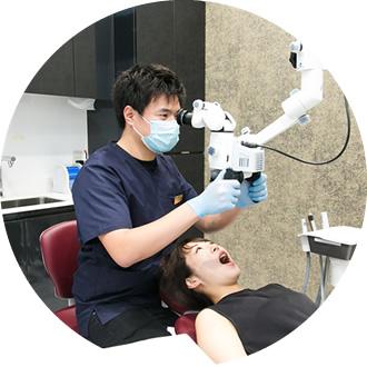 歯を削らない・抜かない・予防治療に重きを置いています。